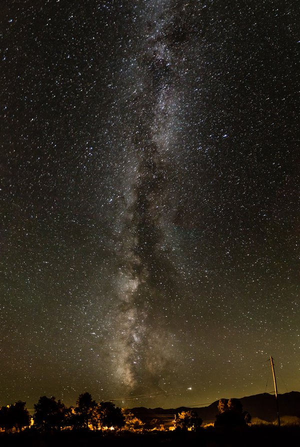 Milky Way from the Great Basin Desert thumbnail