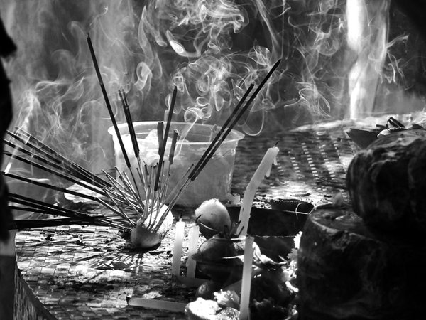 The Souls of Incense sticks. thumbnail