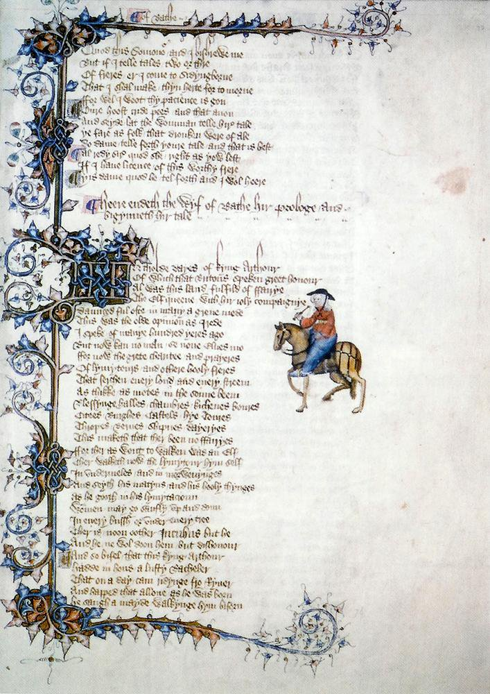 A New App Guides Readers Through Chaucer's 'Canterbury Tales'