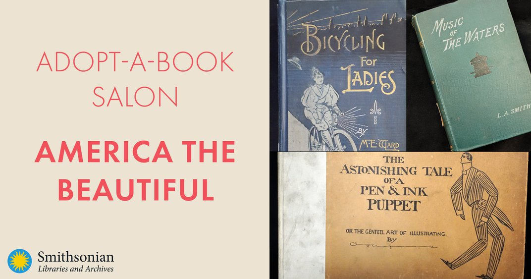Graphic for Adopt-a-Book Salon: America the Beautiful