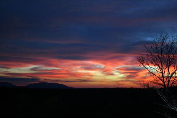 Evening sky in Oklahoma thumbnail