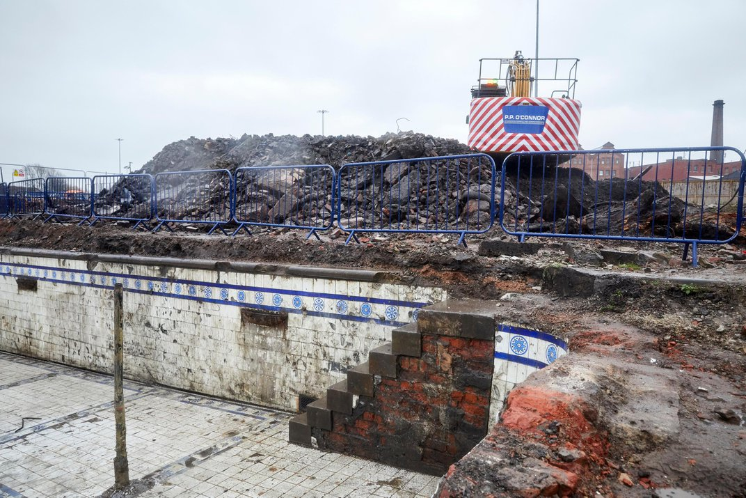 'Stunning' Victorian Bathhouse Unearthed Beneath Manchester Parking Lot