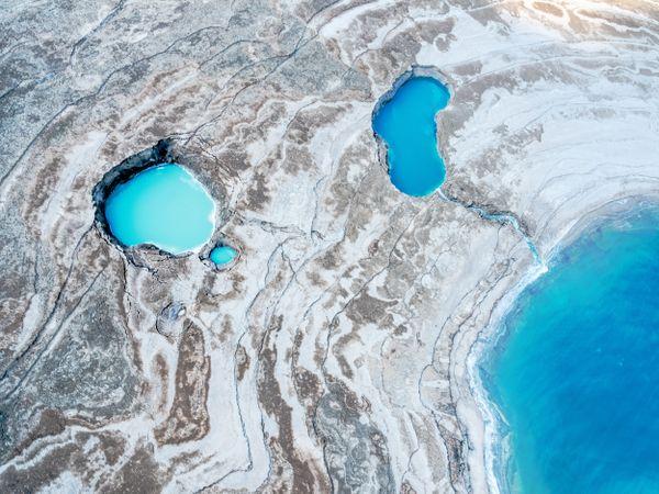 'Moonlanding', Dead Sea, Israel thumbnail