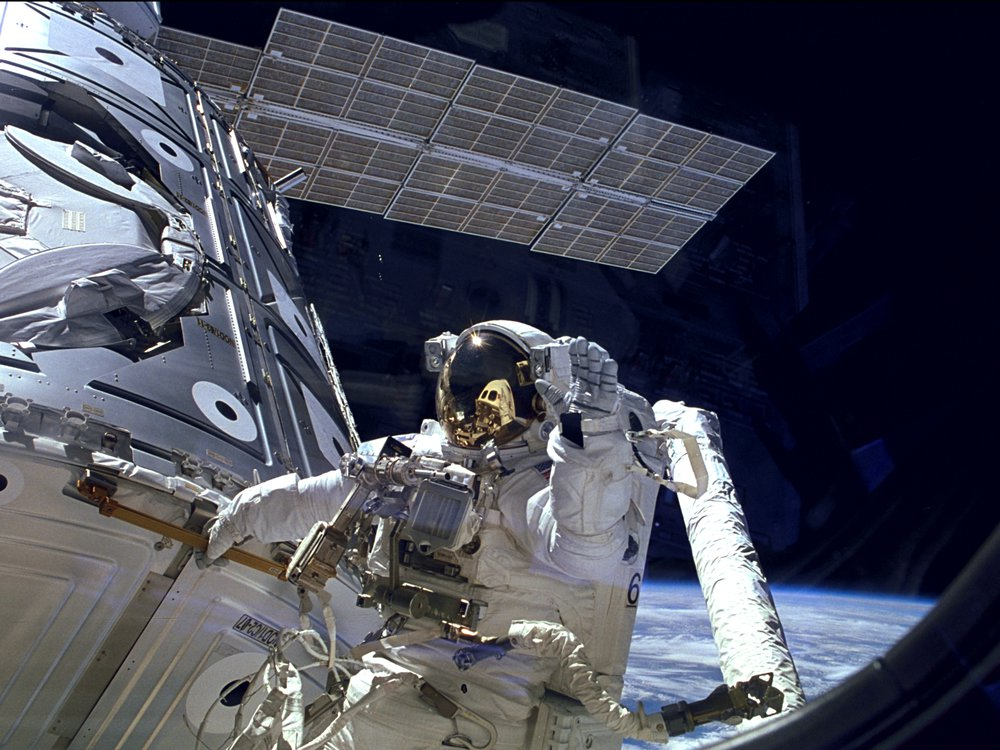 ISS Astronaut