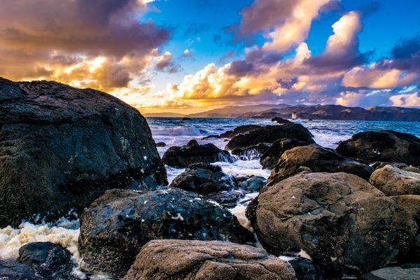 Sunset on the San Francisco Bay thumbnail