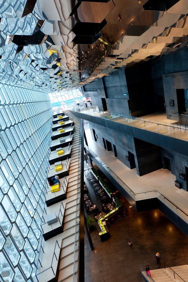 The Harpa Concert Hall in Reykjavik thumbnail