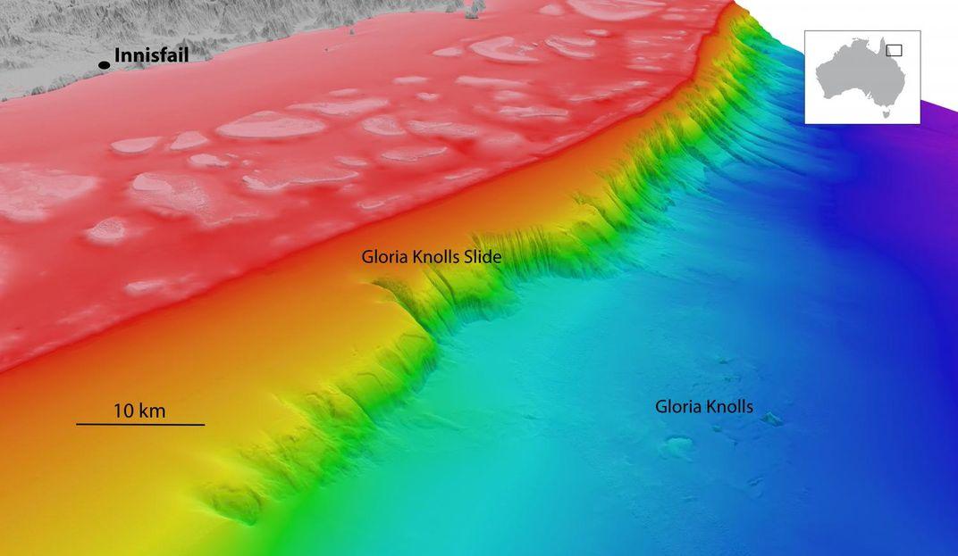 Scientists Discovered a Gigantic, 300,000-Year-Old Landslide Under the Ocean