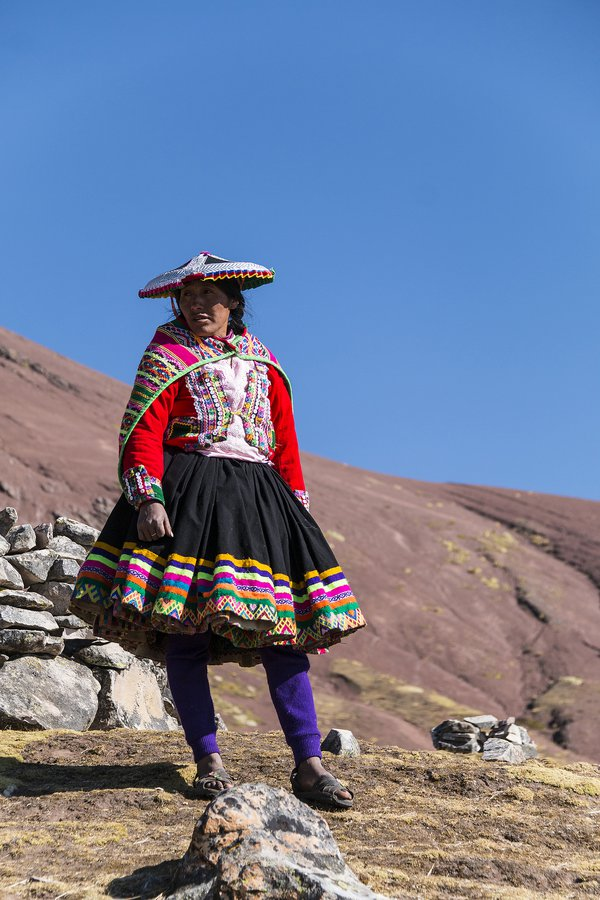 Highland local of Peru thumbnail