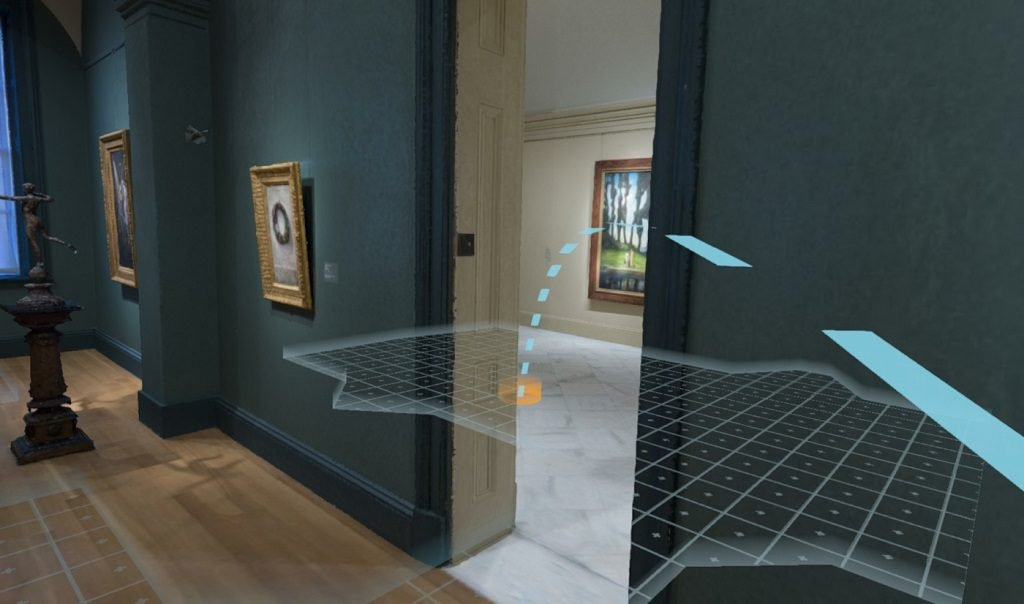 Teleporting (jumping from one room to another) in Virtual Reality