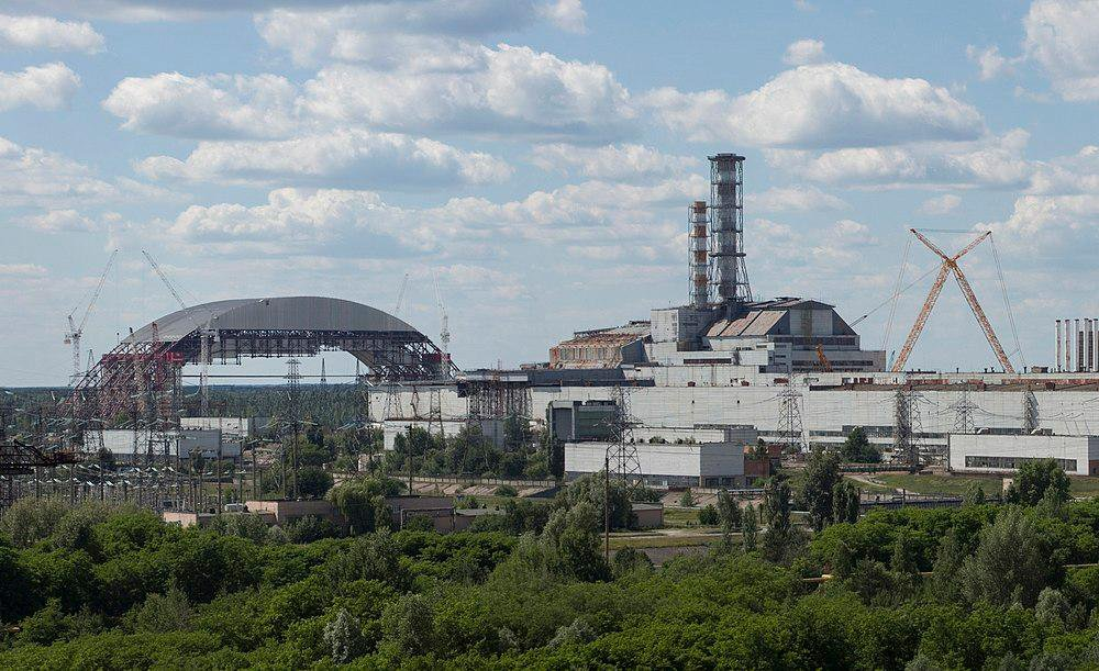 A photo of the Chernobyl Nuclear Power Plant in Ukraine taken in2013