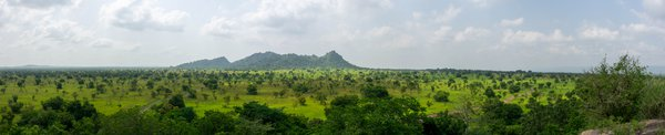 Landscape of Shai Hills Nature Reserve, Greater Accra, Ghana thumbnail