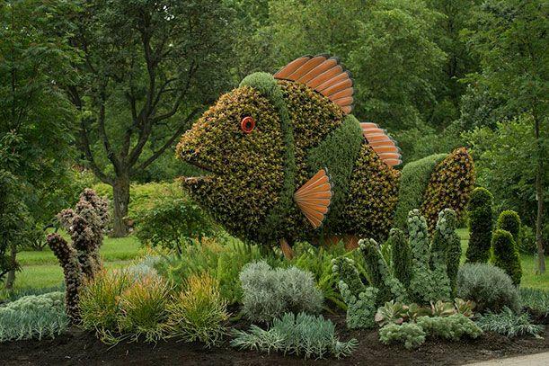 Horticultural Artists Grow Fantastical Scenes at the Montréal Botanical Garden