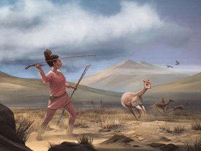 Prehistoric hunter-gather societies may have depended on women, as well as men and children, to conduct a successful hunt.