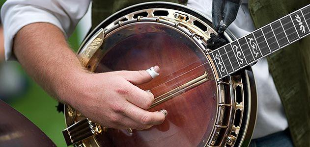 Jewish bluegrass banjo