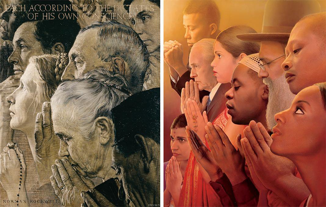 A 21st-Century Reimagining of Norman Rockwell's