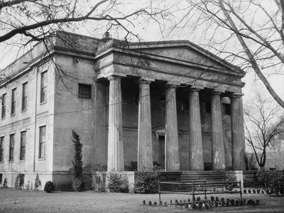 Old Medical College at 598 Telfair Street in March 1934.