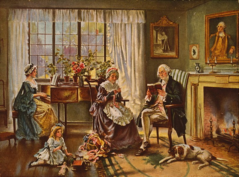 The Father of the Nation, George Washington Was Also a Doting Dad to His Family