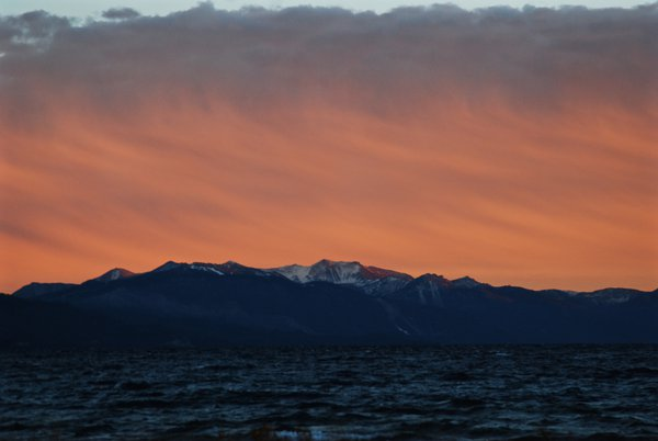Lake Tahoe at Dusk thumbnail