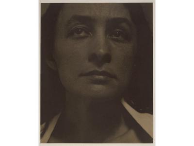 Georgia O'Keeffe. Photograph by Alfred Stieglitz, 1919.
