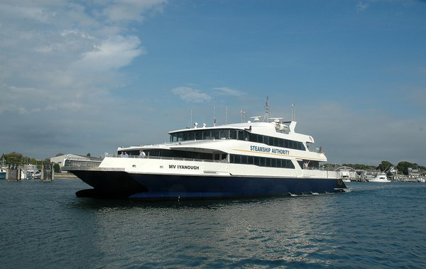 Steamship Authority Ferry Boat Arriving into Hyannisport thumbnail