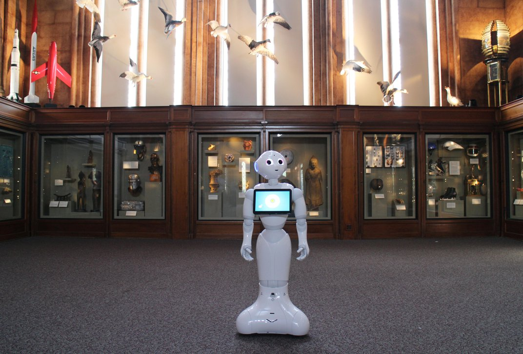 The Smithsonian Is Using a Swahili-Speaking Robot to Break Down Language Barriers