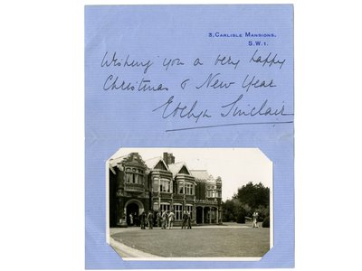 """The 1938 Christmas greeting would've only held significance for those """"in the know"""""""