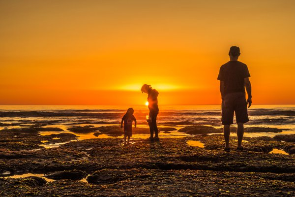 Sunset family thumbnail