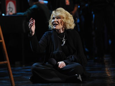 Joan Rivers passed away on September 4 at age 81. Here, performing in St. Charles, Illinois in 2012.