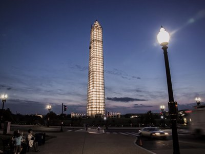 The Washington Monument went through years of expensive restoration work following a 2011 earthquake.
