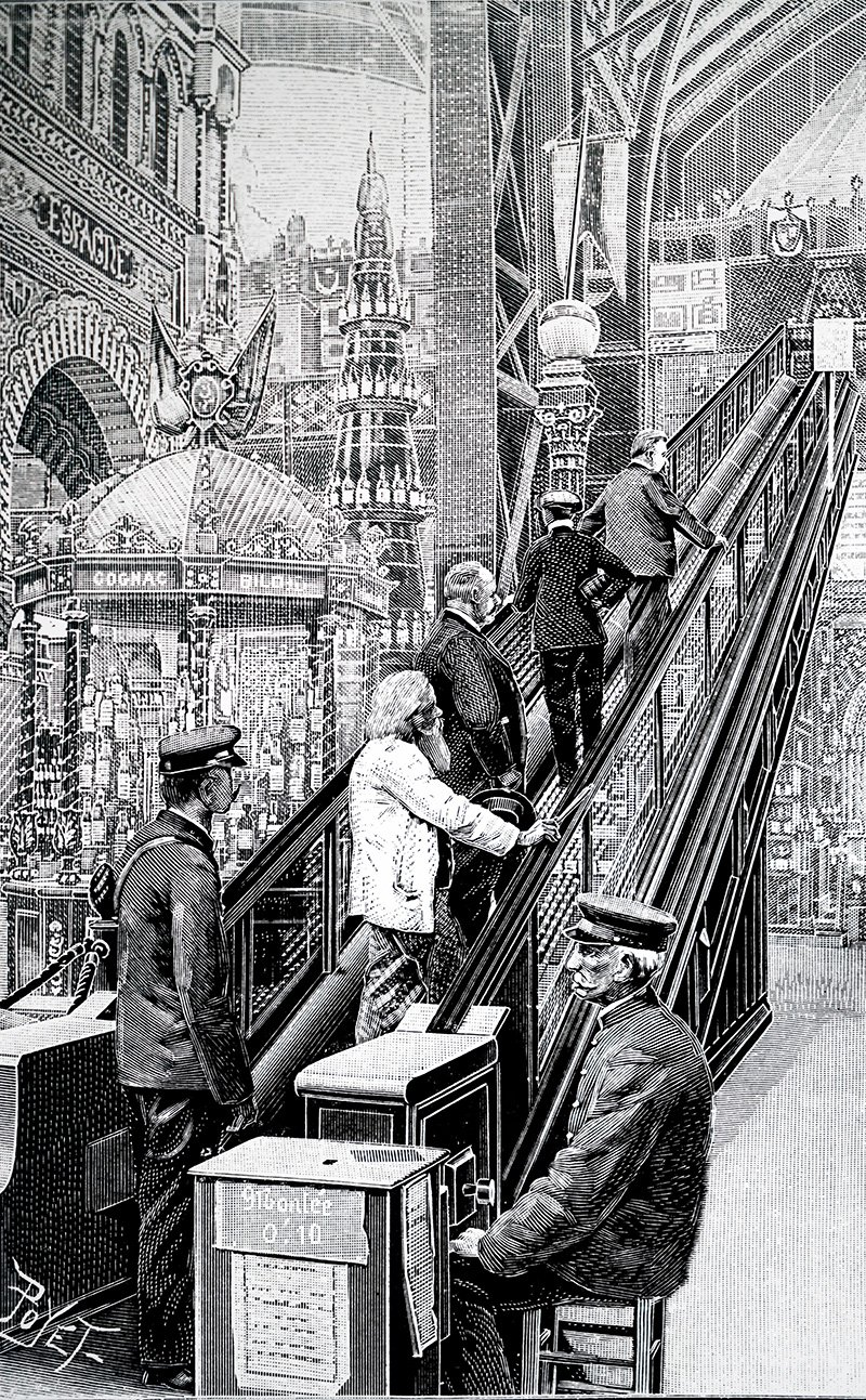 How the Escalator Forever Changed Our Sense of Space