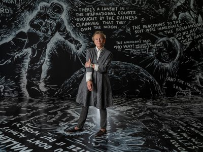 Laurie Anderson's singular artistic path has included books and movies, and an influential performance style whose loops, tapes and style has informed generations.