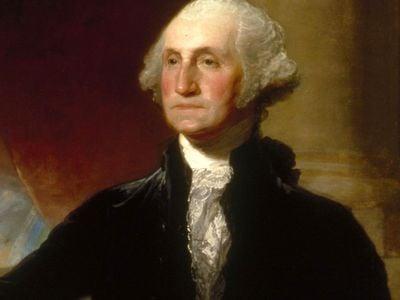 The Landsdowne portrait of George Washington by Gilbert Stuart