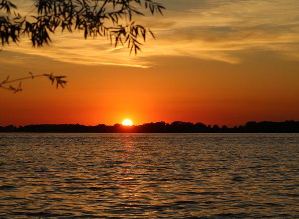 Sunset on Indian Lake thumbnail