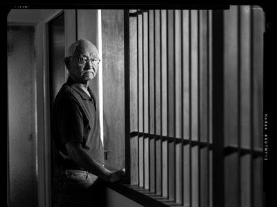 Kiyoshi Katsumoto at his home in El Cerrito, California, 2015