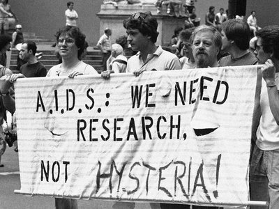The early days of the HIV/AIDS epidemic were marked with stigma and confusion.
