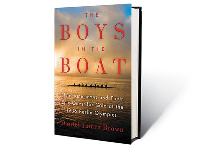 Daniel James Brown's book juxtaposes the coming together of the Washington crew team against the Nazis' preparations for the Olympics in 1936.