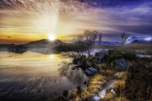 Blackmount Sunset thumbnail
