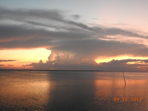 sunset storm over Anclote Key thumbnail