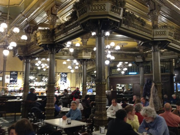 Restaurant where Hemingway ate in Pamplona, Spain  thumbnail