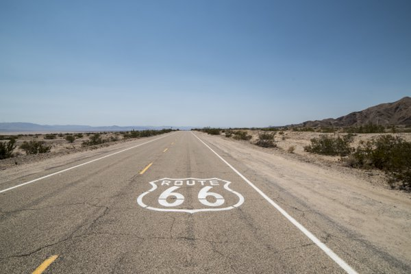 On the road - Route 66 thumbnail