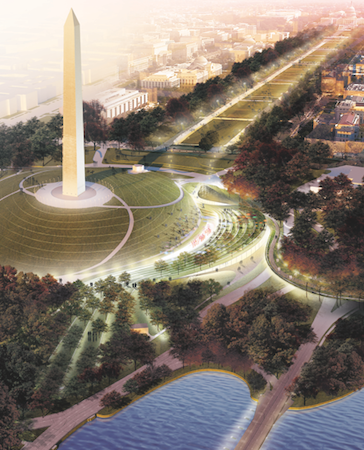 As the Nation's Front Lawn, the National Mall is Getting a Refresh
