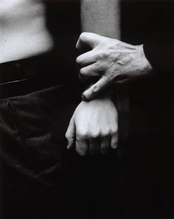 Two men holding hand  thumbnail