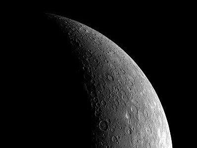 Mercury as seen by Messenger