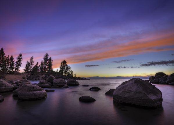 Sunset at Sand Harbor, Lake Tahoe thumbnail