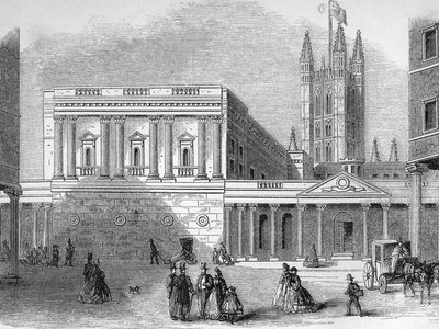 Taking a stroll to the Pump Room–the fashionable place to be seen in Bath during Austen's time.