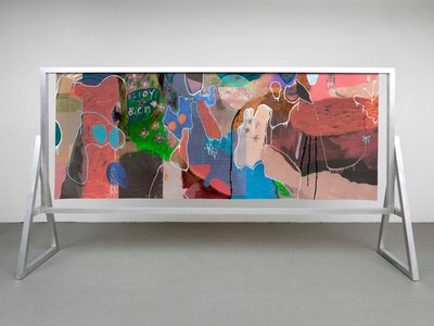 Candida Alvarez's Estoy Bien (2017) provided the inspiration for the title of a new exhibition at El Museo del Barrio.