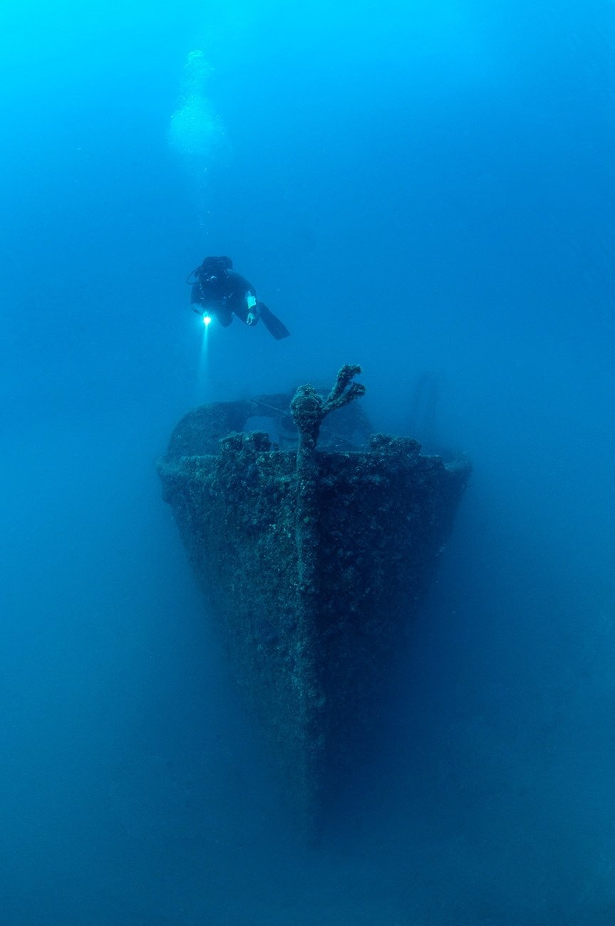 Underwater Museum Allows Divers to Explore Shipwrecks From the Battle of Gallipoli