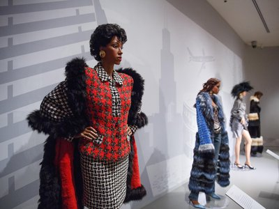 Clothes from several decades of the show are on display at The George Washington University Museum.