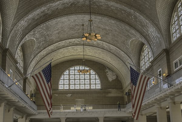 Main room of Ellis Island thumbnail