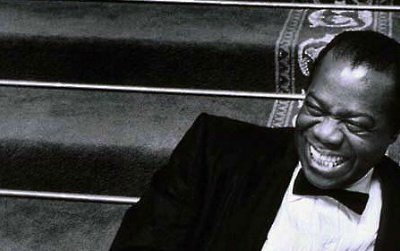 Louis Armstrong embodied stardom in jazz. Photo courtesy of the National Portrait Gallery; gift of Mr. and Mrs. Bob Willoughby